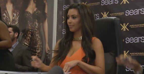 Kim Kardashian, pantolonun içine sığamadı