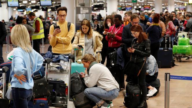 Brüksel Zaventem Havalimanı'nda uçuşlar iptal edildi