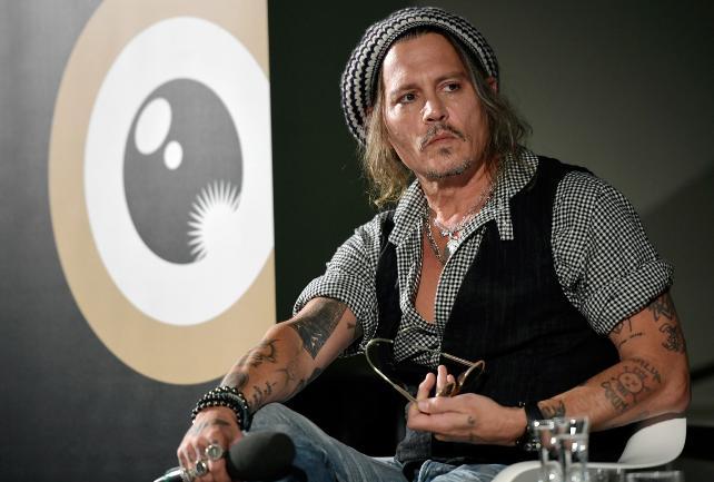 Johnny Depp 14. Zürih Film Festivali'ne konuk oldu