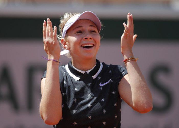 Amanda Anisimova yarı finale yükseldi