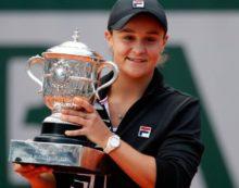 Roland Garros'ta şampiyon Ashleigh Barty