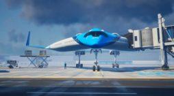 KLM 'Flying-V' uçak tasarımına fon sağlayacak
