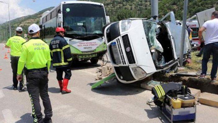 Bayram tatilinin kaza bilançosu: 61 ölü, 429 yaralı