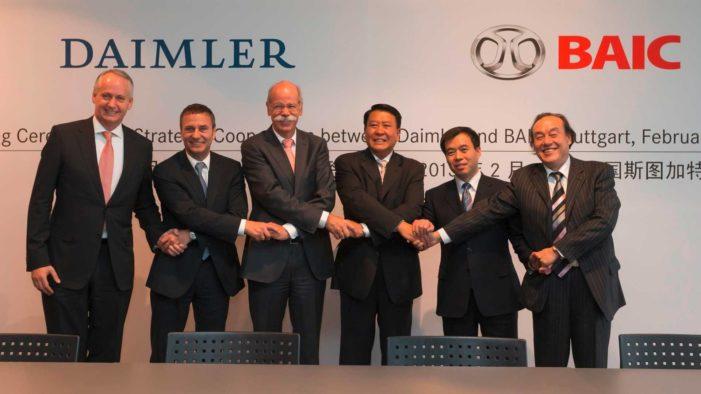 Çinli BAIC Group 'Daimler' hissesi aldı…