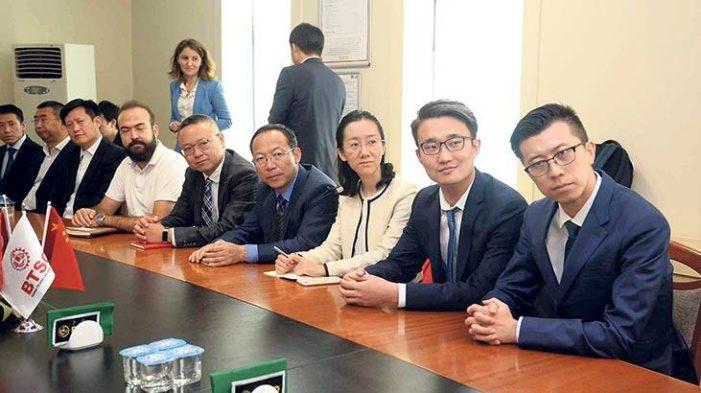 Çinli yatırımcılar Bursa'yı ziyaret etti