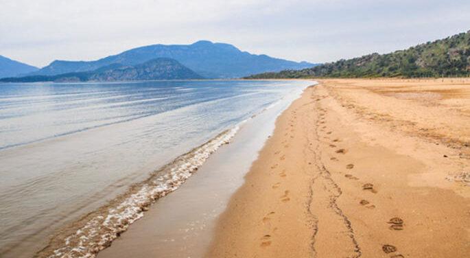 'İztuzu' dünyadaki ender plajlardan biri…