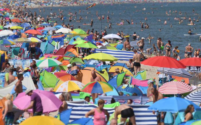 Belçika'da kırmızı alarm: Sıcaklık 40.1 derece