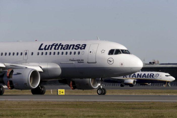 Lufthansa uçağına bomba ihbarı