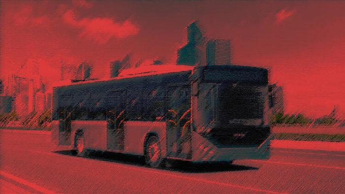 Halk otobüsünde taciz!