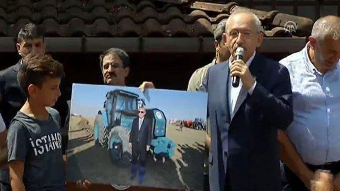 Kılıçdaroğlu: İnsan ülkesinin toprağına galoşla basmaz…