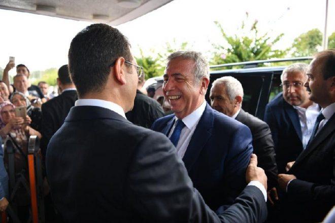 Mansur Yavaş, İBB Başkanı İmamoğlu'nu ziyaret etti