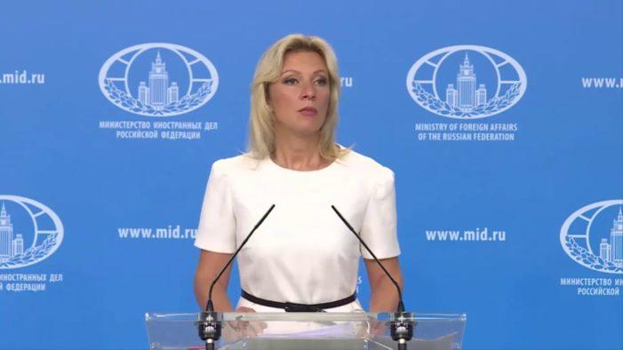 Zaharova: 'ABD kendini çıkmaza sokuyor'