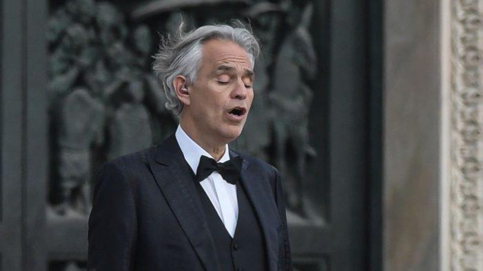 Andrea Bocelli corona virüsüne yakalandığını duyurdu