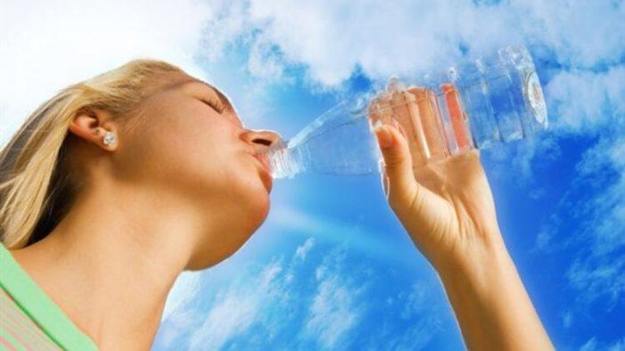 """""""Corona virüsünden korunmak için su için!.."""""""