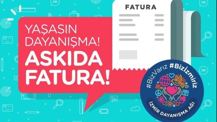 İzmir'de de 'Askıda fatura' uygulaması başlıyor!..