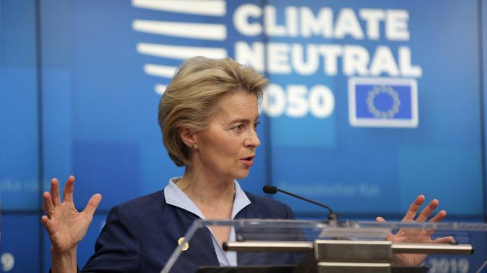 'Avrupa için Green Deal fonu' Bir Trilyon Euro