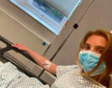 Victoria's Secret meleği coronavirüse yakalandı