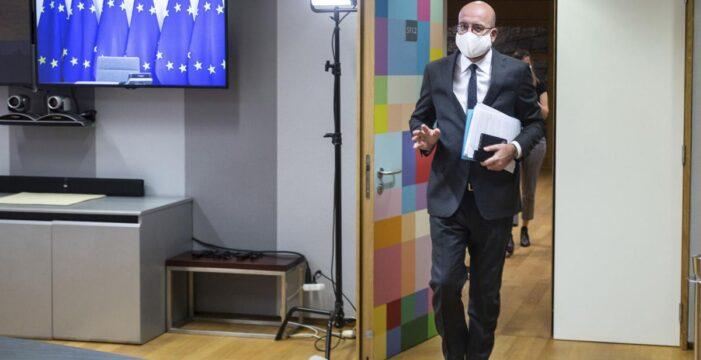 AB Konseyi Başkanı Michel kendini karantinaya aldı!