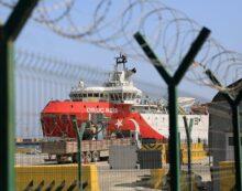 Oruç Reis limana çekildi