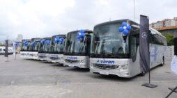 Varan Turizm 'Mercedes-Benz Türk'ten 33 adet yeni otobüs aldı