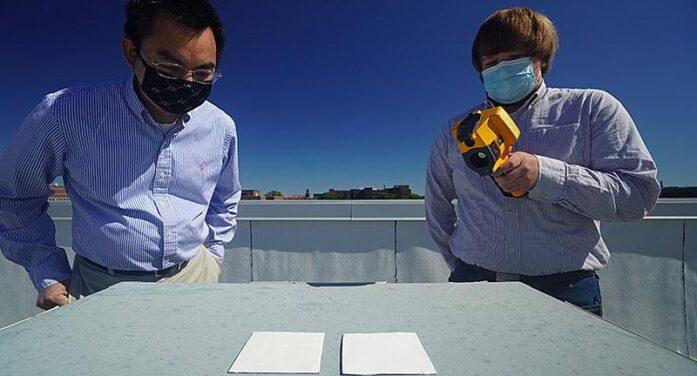Bilim adamları yüzeyi serin tutan beyaz boya geliştirdi