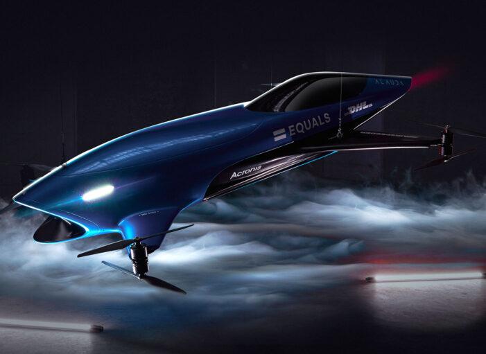'Airspeeder' marka elektrikli yarış otomobili görücüye çıktı