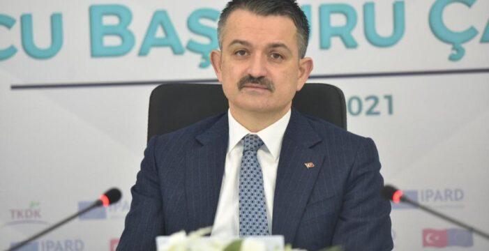 "Bakan Pakdemirli: ""IPARD-II Başvurusuna rekor talep geldi…"""