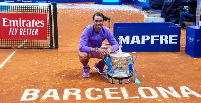 Barcelona Açık: Nadal şampiyonluğa ulaştı