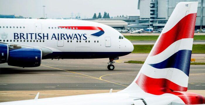 British Airways uluslararası üçüş izni bekliyor