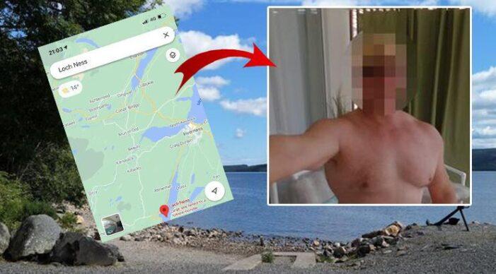 Google Haritalar'da doğal güzelliklerin yerine çırılçıplak bir adam resmi çıktı