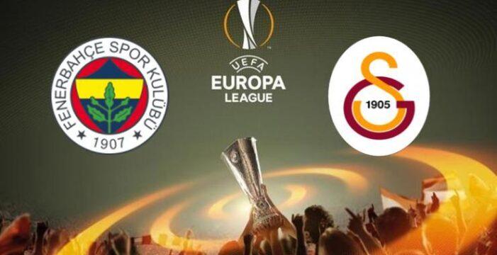 Fenerbahçe ve Galatasaray'ın UEFA Avrupa Ligi'nde rakipleri belli oldu