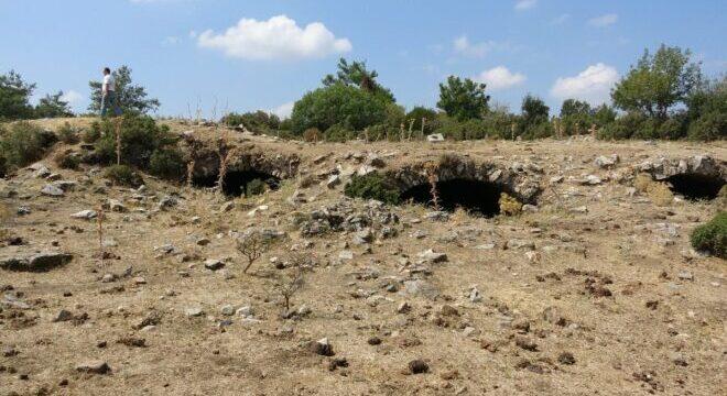2 bin 300 yıllık Amyzon Antik Kenti gün yüzüne çıkıyor