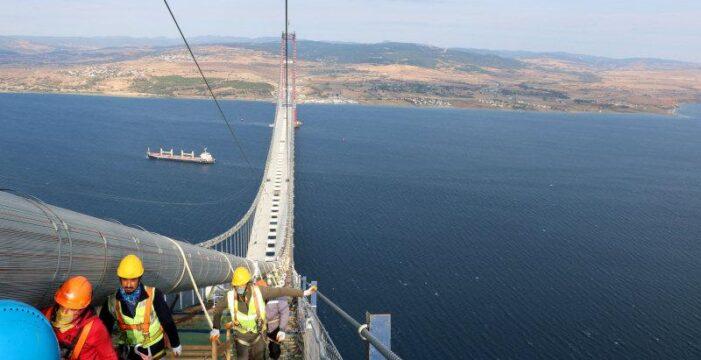 Çanakkale Köprüsü akaryakıtta tasarruf sağlayacak