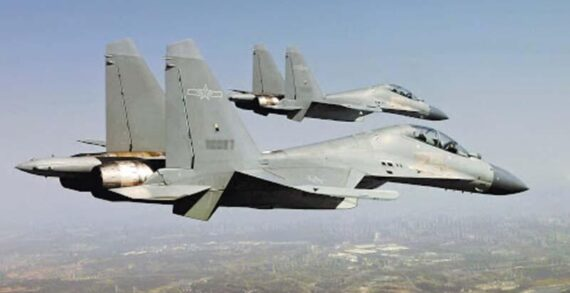 Çin askeri jet filosu Tayvan hava savunma bölgesine girdi